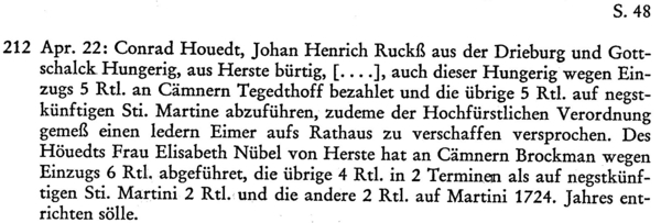 Bürgerbuch der Stadt Driburg