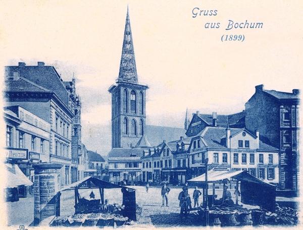 Bochum um 1899
