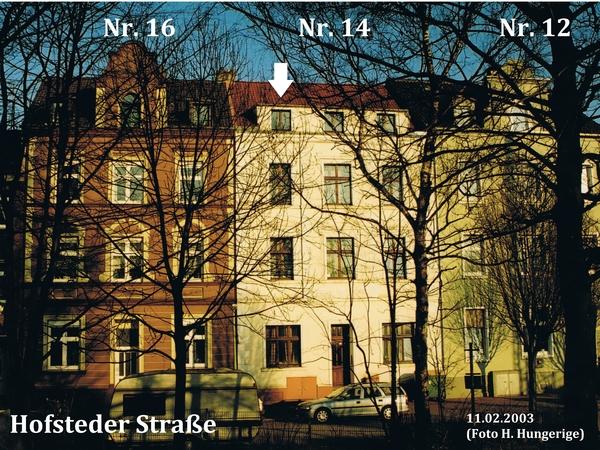 Hofsteder Str. 16, 14 und 12