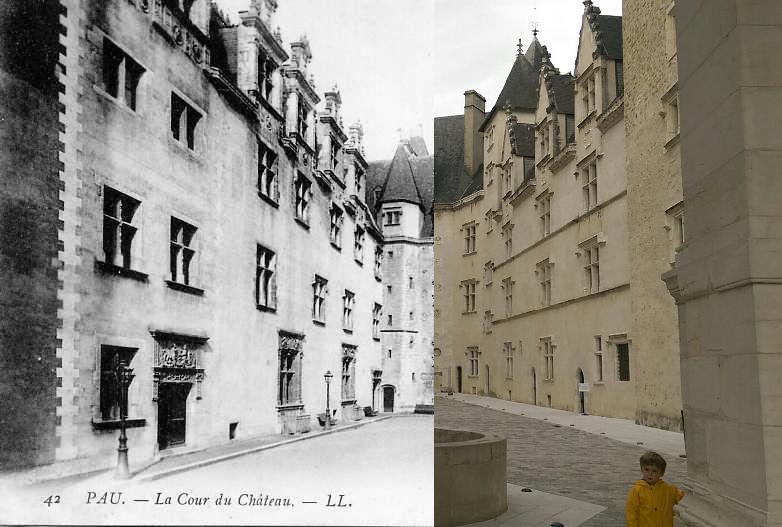 Pau - La Cour du Château