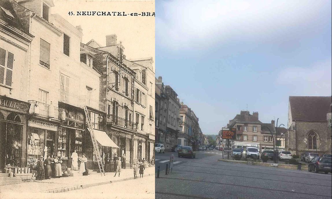 Neufchâtel-en-Bray - Place Notre-Dame