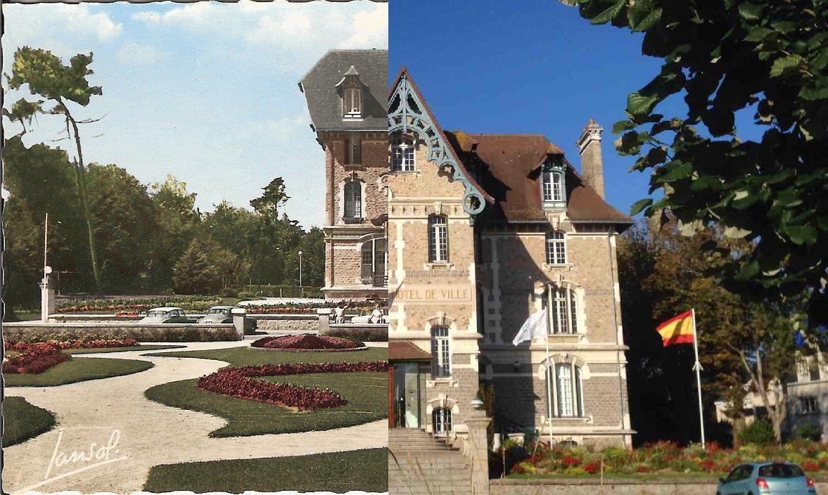 Pornichet - La mairie et les jardins