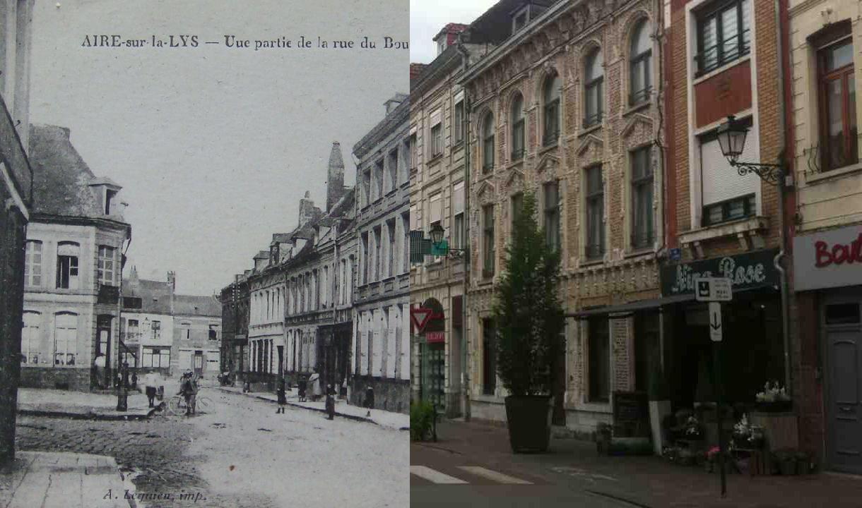 Aire-sur-la-Lys - Rue du Bourg.