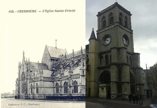 Cherbourg - église Sainte Trinité